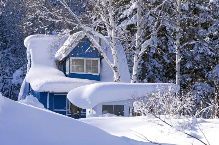Entretenir sa toiture l'hiver.